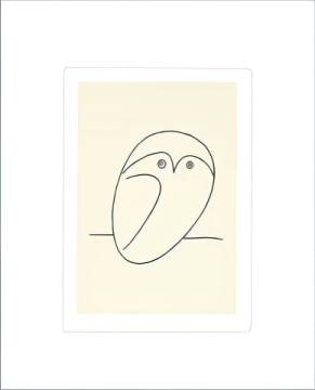 The Owl of artist Pablo Picasso, Owl