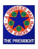 Robert Indiana - The president
