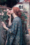 John William Waterhouse - The Soul of the Rose, 1908