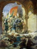 Benjamin Constant - Entry of the Turks of Mohammed II (1432-81) into Constantinople, 29th May 1453, 1876