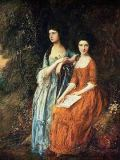 Thomas Gainsborough - The Linley Sisters