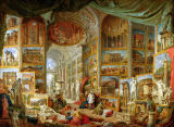 Giovanni Paolo Pannini or Panini - Gallery of Views of Ancient Rome, 1758