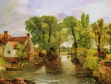 John Constable - The Mill Stream, 1814-15