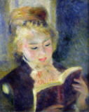 Pierre Auguste Renoir - Girl Reading, 1874
