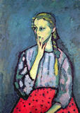Alexej von Jawlensky - Portrait of a Young Girl
