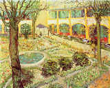 Vincent van Gogh - The Asylum Garden at Arles, 1889