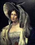 George Henry Harlow - Victoria May Louise, Duchess of Kent (1786-1861), c.1830-40