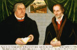 Lucas Cranach der Jüngere - Double Portrait of Martin Luther (1483-1546) and Philip Melanchthon (1497-1560)