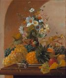 Michael Wentzel - Fruit and Flowers Still-Life