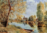 Alfred Sisley - Spring in Moretsur-Loing
