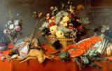 Frans Snyders or Snijders - Still Life with Fruitbasket