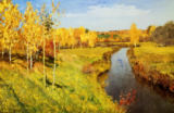 Isaak Iljitsch Lewitan - Golden Autumn