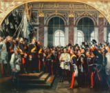 Anton Alexander von Werner - The Proclamation of the German Kaiser