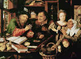 Jan Massys - The tax collector