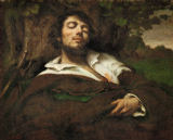 Gustave Courbet - L'homme blesse