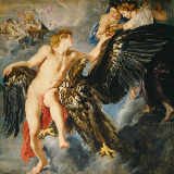 Peter Paul Rubens - The Abduction of Ganymede