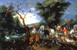 Jan Brueghel der Jüngere - Noah's Ark & the animals / Brueghel