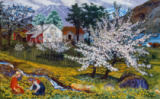 Nikolai Astrup - Apple Trees in Bloom