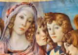 Sandro Botticelli - Mary with the Child and six angels