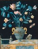 Ferdinando Enrico Hugford - Vase with flowers and butterflies