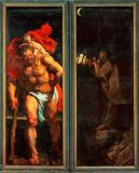 Peter Paul Rubens - Altar:Descent from Cross,closed,left sid