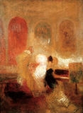 Joseph Mallord William Turner - A Music Party, East Cowes Castle