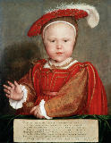 Hans Holbein der Jüngere - Edward VI as Prince of Wales / Holbein