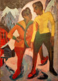 Ernst-Ludwig Kirchner - Two brothers Mardersteig