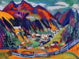 Ernst-Ludwig Kirchner - View of Davos