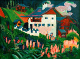 Ernst-Ludwig Kirchner - Our house in the meadows
