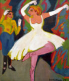 Ernst-Ludwig Kirchner - Russian dance pair