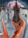 Ernst-Ludwig Kirchner - The Red Tower in Halle