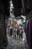 Adam Wong - Children at Bangladesh Slum